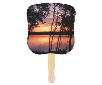 Stock Design Hand Fan - Sunset