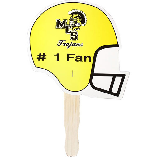 Helmet Shaped Hand Fan