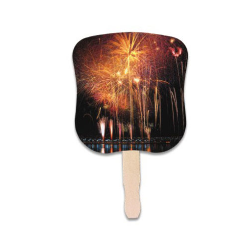 Stock Design Hand Fan-Fireworks
