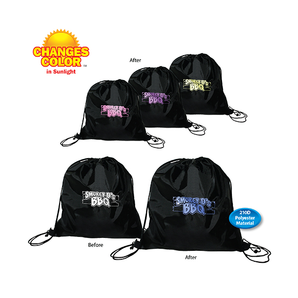 Sun Fun Drawstring Backpack