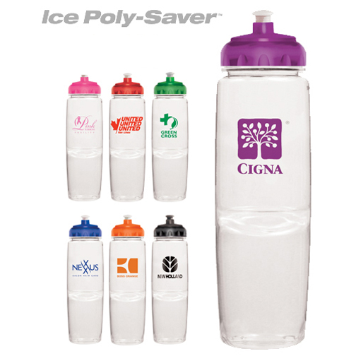 24 oz. Ice Poly-Saver Twist Bottle