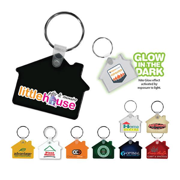 House Key Fob, Full Color Digital