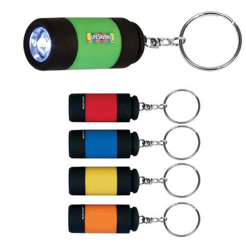 Mini-Might LED Key Chain, Full Color Digital