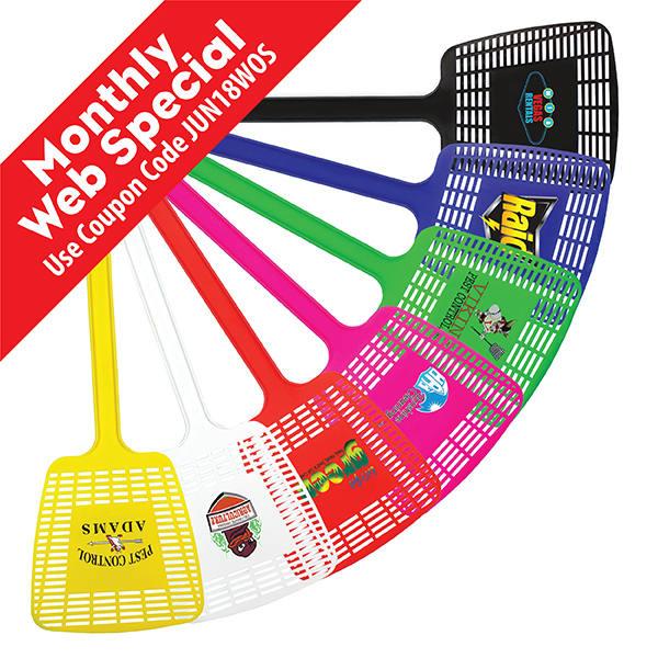 Mega Fly Swatter, Full Color Digital