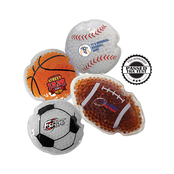 Sport Gel Bead Hot/Cold Pack, Full Color Digital