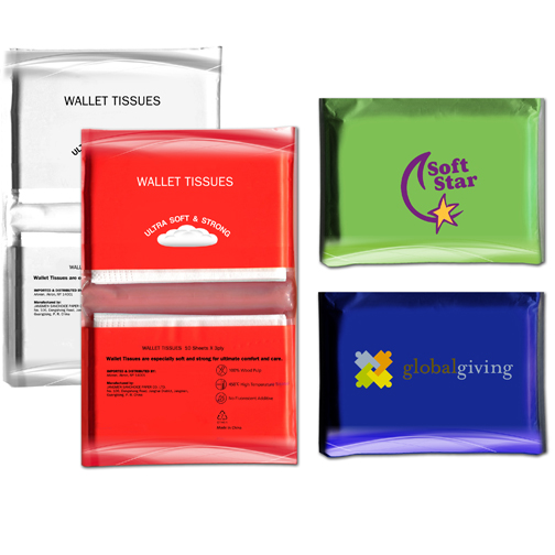 Tissue Pack, Full Color Digital
