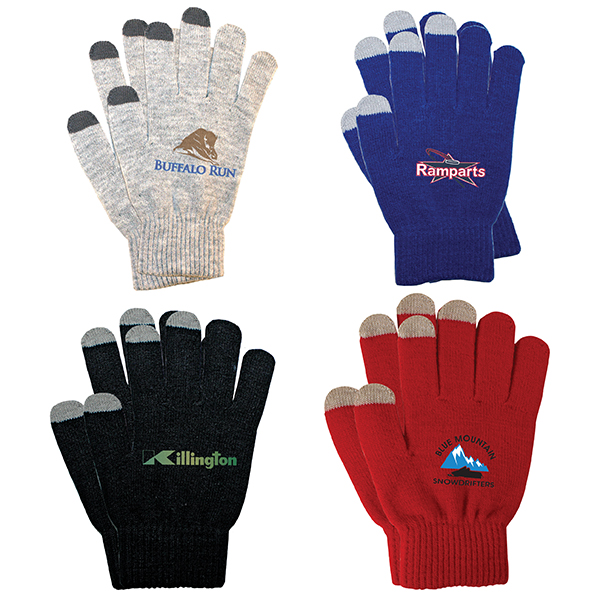 Touch Screen Gloves, Full Color Digital