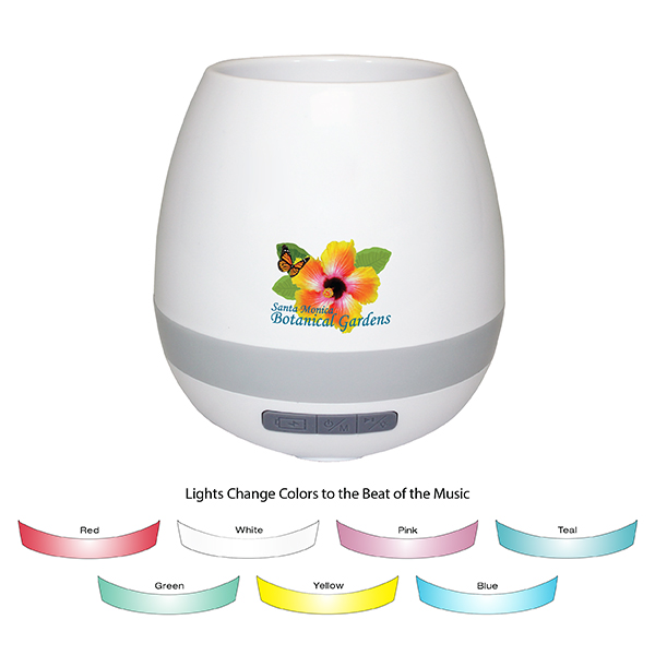 Musical Planter & Wireless Speaker, Full Color Digital