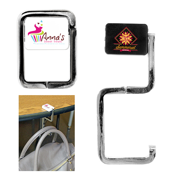 Rectangle Purse Hook, Full Color Digital