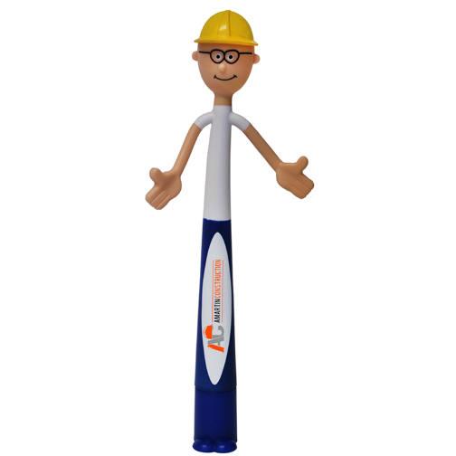 Safety Bend-A-Pen, Full Color Digital