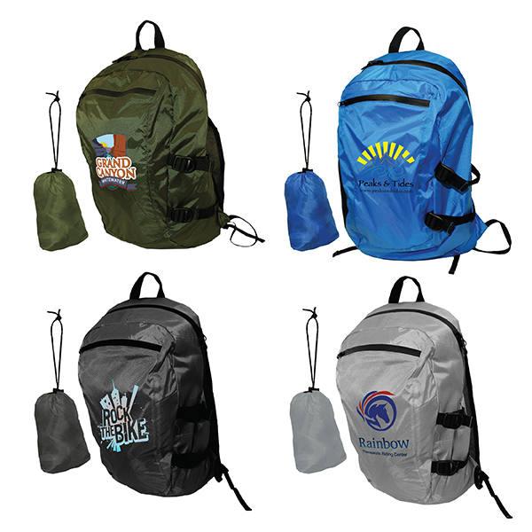 Otaria™ Packable Backpack, Full Color Digital