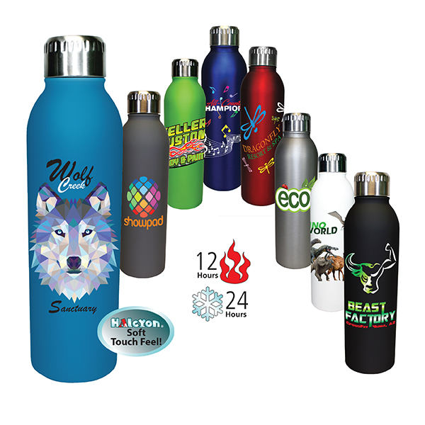17 oz. Deluxe Halcyon® Bottle, Full Color Digital