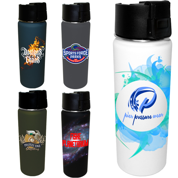 20 oz. Halcyon™ Sport Bottle, Full Color Digital