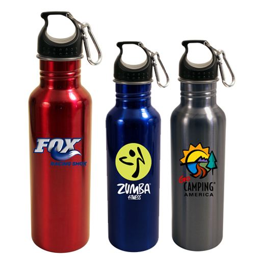 24 Oz. Stainless Steel Quest Bottle, Full Color Digital