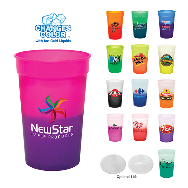 17 Oz. Mood Stadium Cup, Full Color Digital