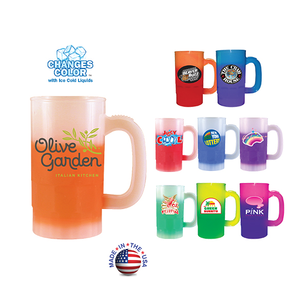 14 oz. Mood Beer Stein (1 Side), Full Color Digital