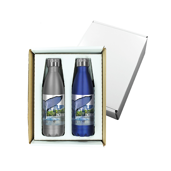 17 oz. Halcyon™ Bottle Gift Set, Full Color Digital