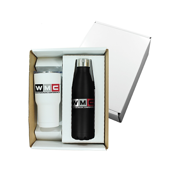 Halcyon™ Tumbler & Bottle Gift Set, Full Color Digital