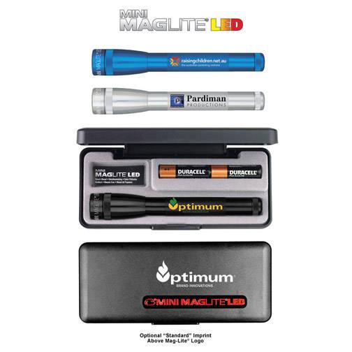 SP2 Mini Mag-Lite LED 2AA, Full Color Digital