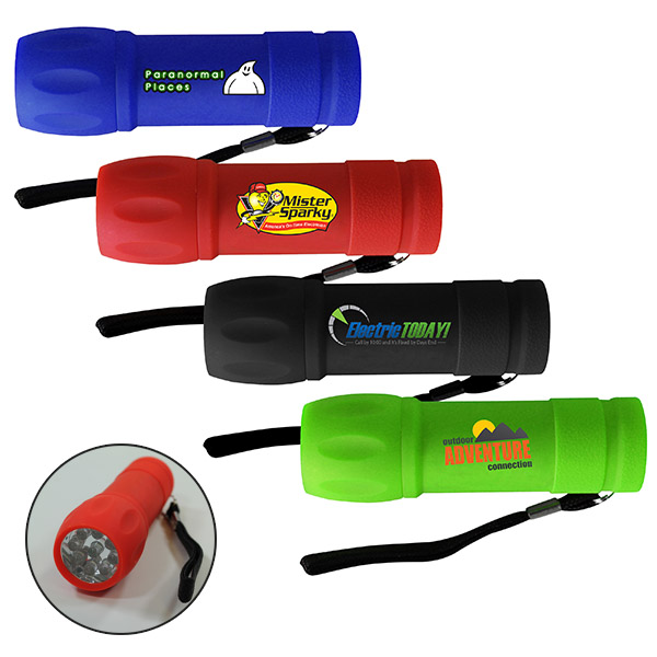 Halcyon™ LED Flashlight, Full Color Digital