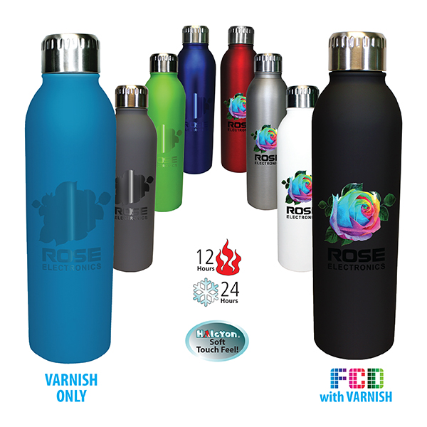17 oz. Deluxe Halcyon® Bottle, FCD with Varnish or Varnish Only