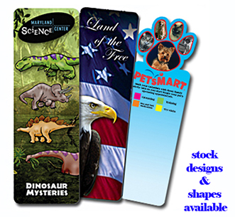 Bookmark, Full Color Digital (2 Side Custom Imprint)