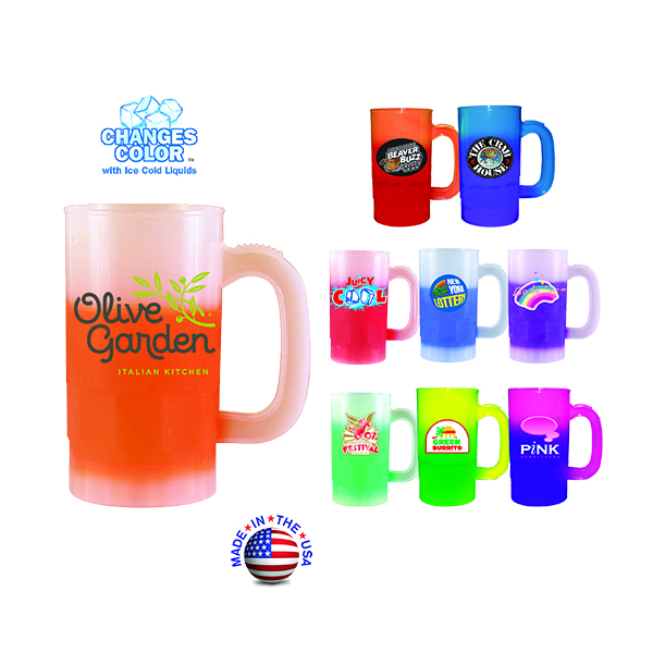 14 Oz. Mood Beer Stein (2 Side), Full Color Digital