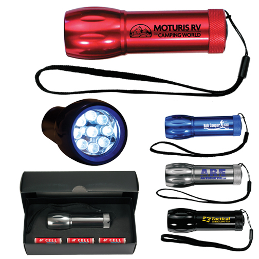 Mega Might LED Metal Flashlight, SPOT