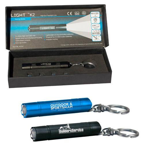 K2 Light2 LED Flashlight