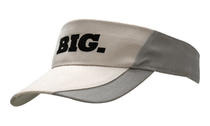 Brushed Heavy Cotton Visor with Peak inserts