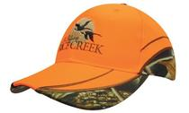 Luminescent Cap with Leaf Camouflage Inserts