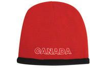 Roll Down Acrylic & Polar Fleece Beanie - Toque