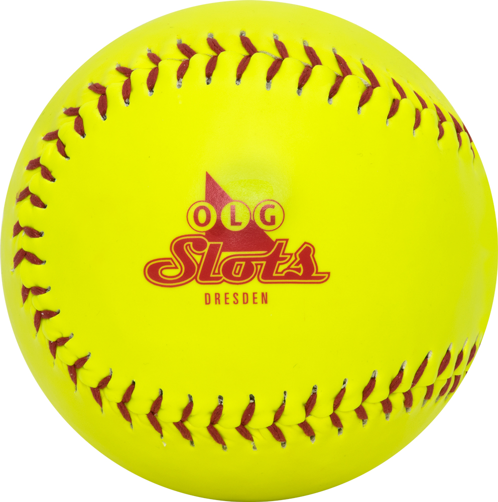 Promotional Softball Yellow