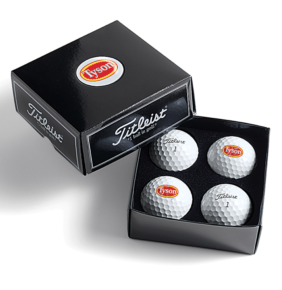 Titleist 4-ball Dome Label Box - Pro V1 or Pro V1x