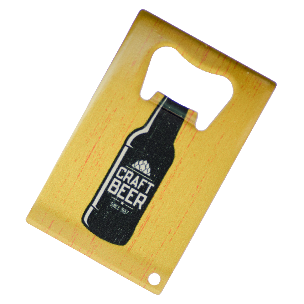 Credit Card Bottle Opener - Full Color