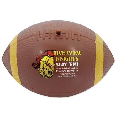 Mini Vinyl Football With End Stripes