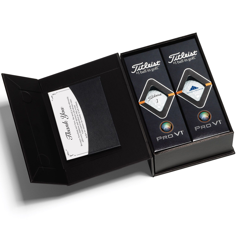 Titleist 3-Ball Appreciation Box with Pro V1