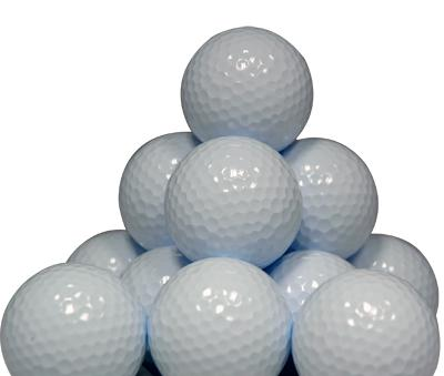 Blank Bulk Packed Golf Balls