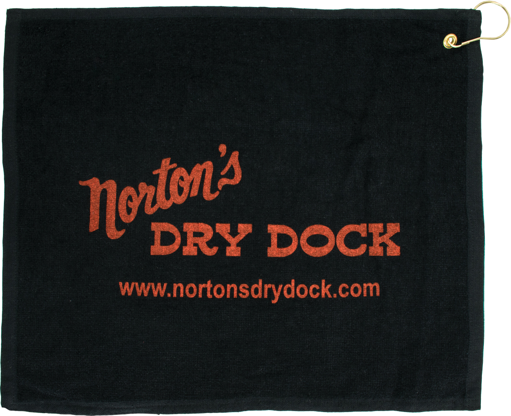 "15"" x 18"" Dark Terry Towel"