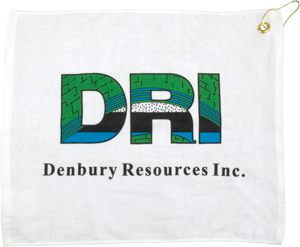 "15"" x 18"" White Terry Towel"