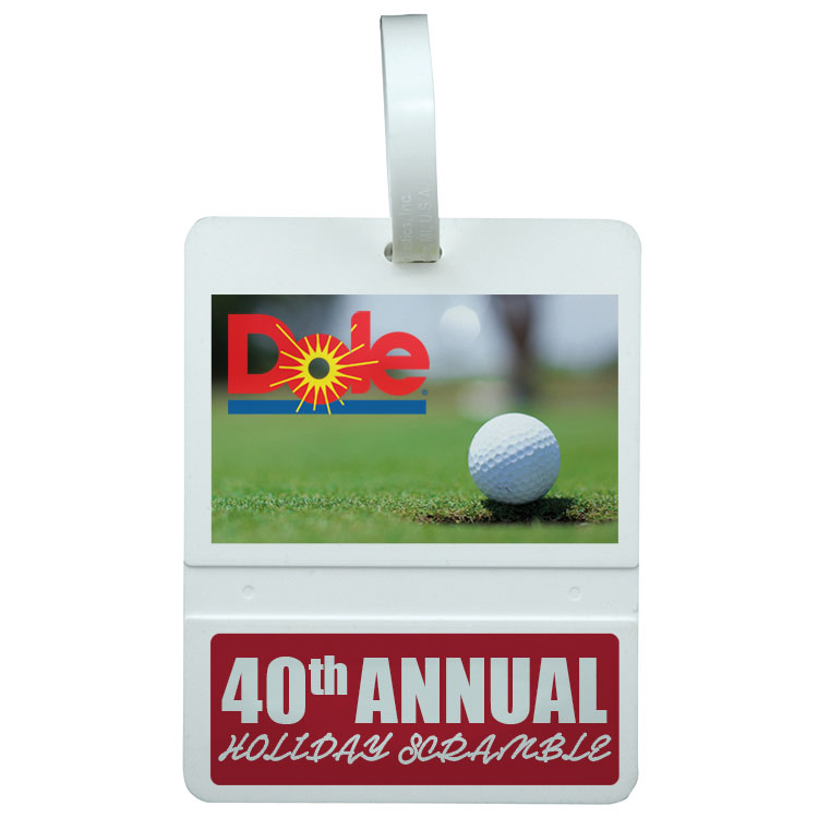 Golf Bag Tag - Rectangle