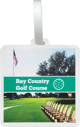 Golf Bag Tag - Direct Substrate