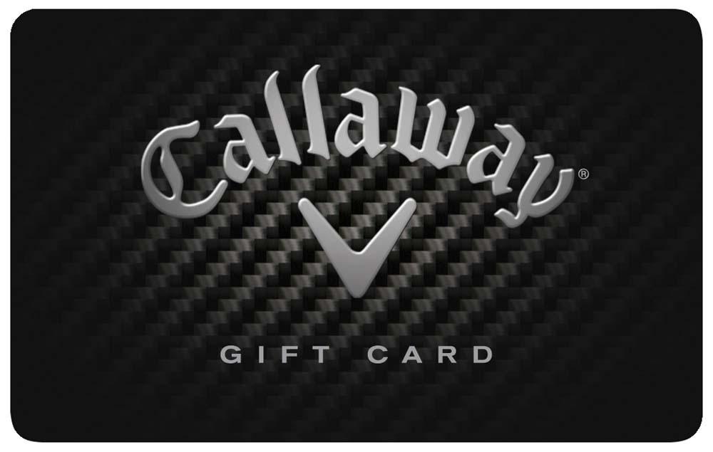 Callaway $250.00 Gift Card