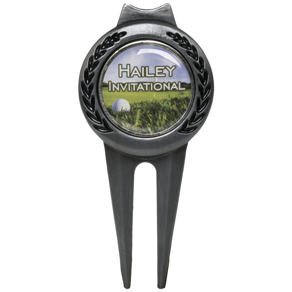 Tour Divot Tool With Clip