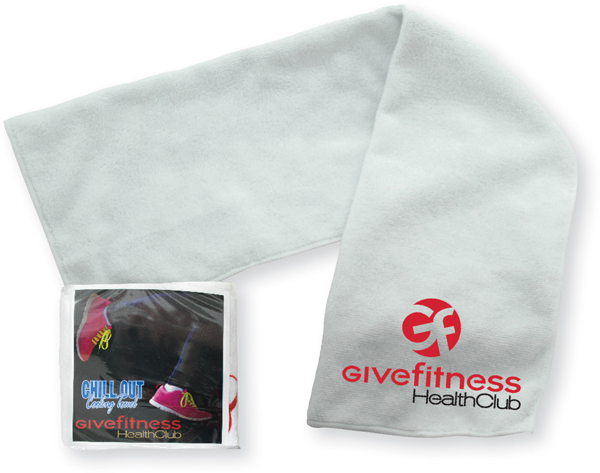 Chill Out Towel With Custom Packaging