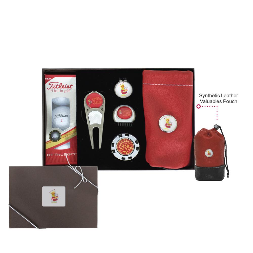 Gold Golf Kit