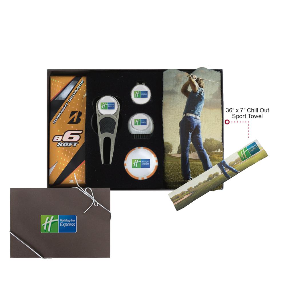 Silver Golf Kit