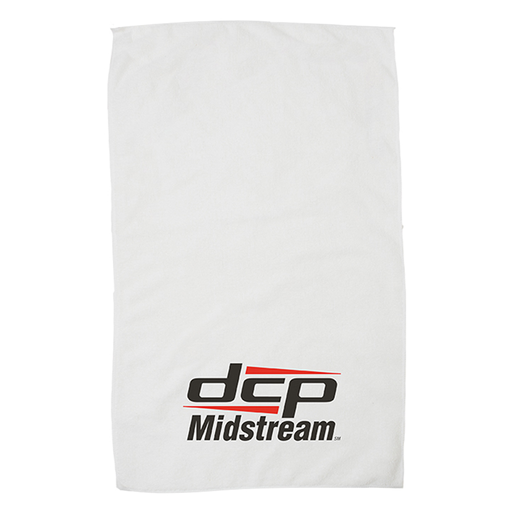 "15"" x 24"" White Microfiber Super Soft Towel"