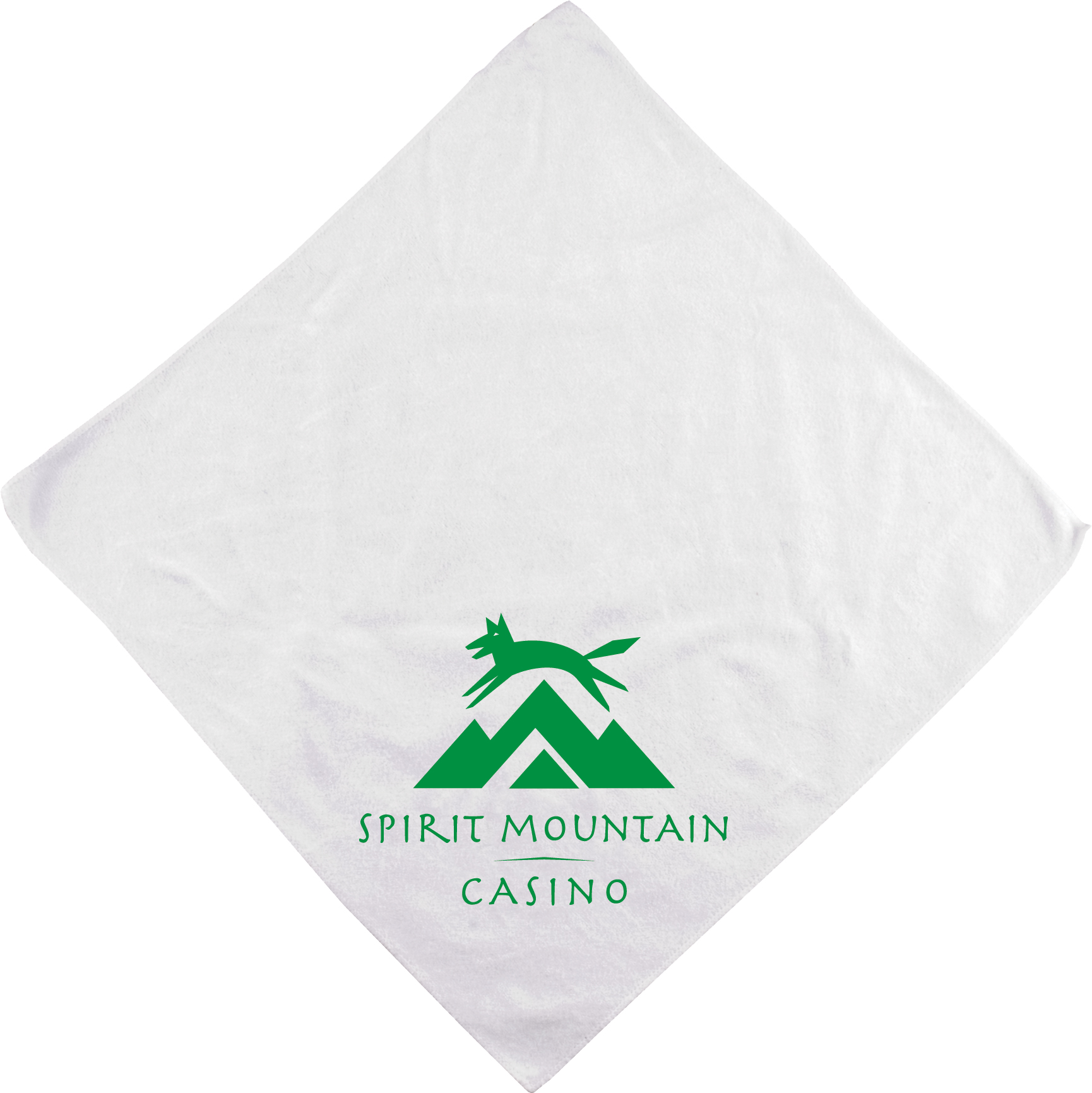 "16"" x 16"" White Micorfiber Super Soft Towel"
