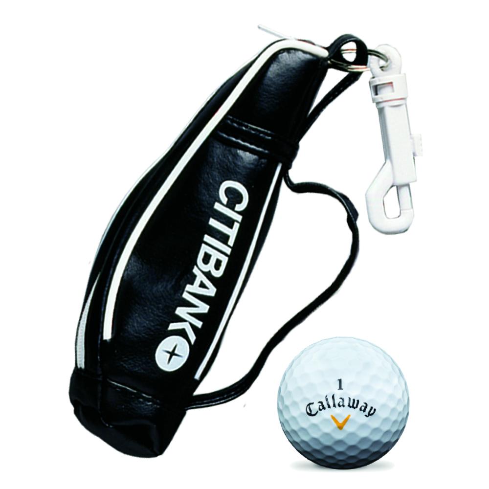 Mini Golf Bag with Golf Balls